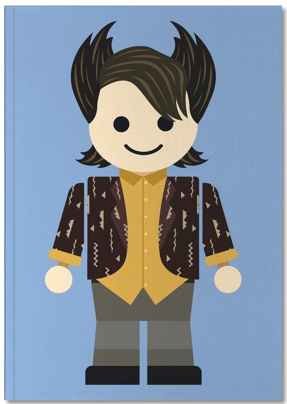Chandler Bing Toy Notebook