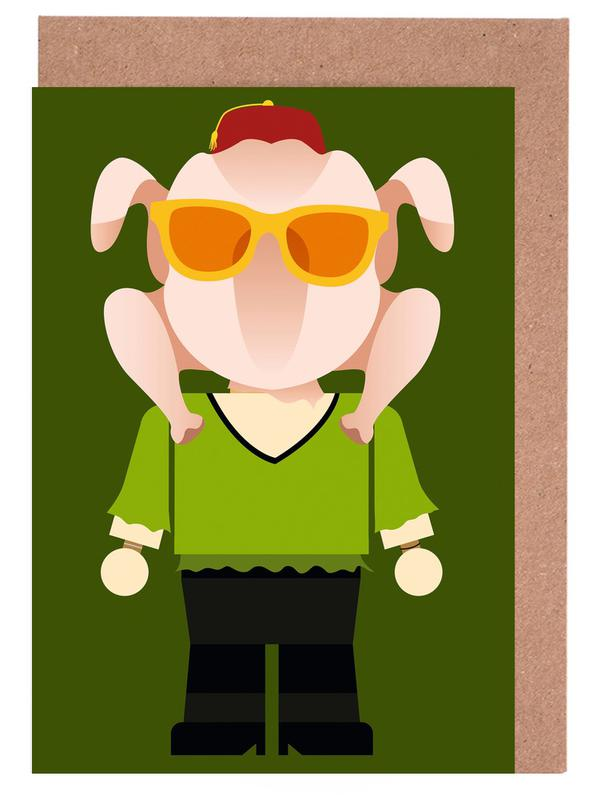 Monica Geller Toy Greeting Card Set