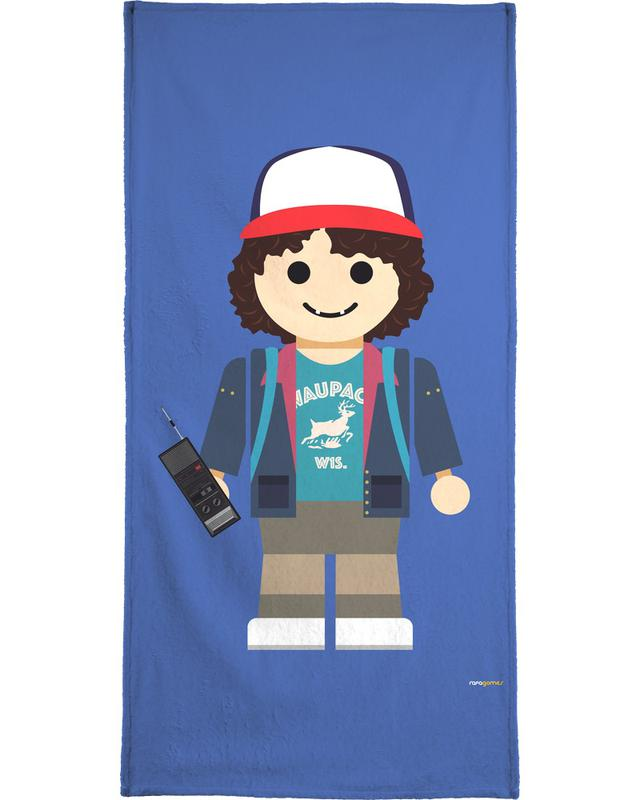 Dustin Toy Beach Towel