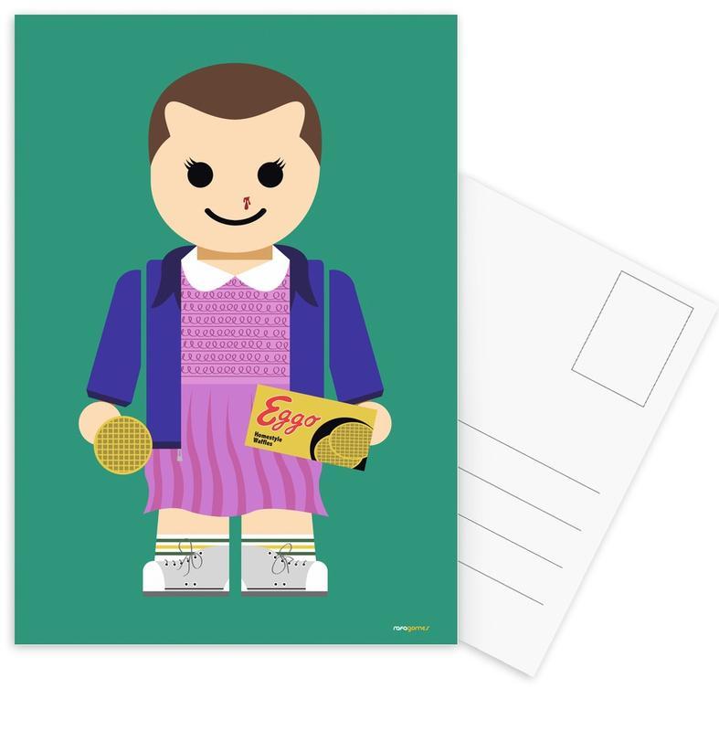 Eleven Toy Postcard Set
