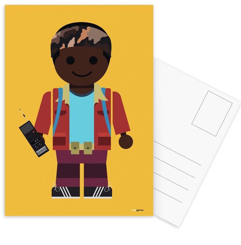 Lucas Toy Postcard Set