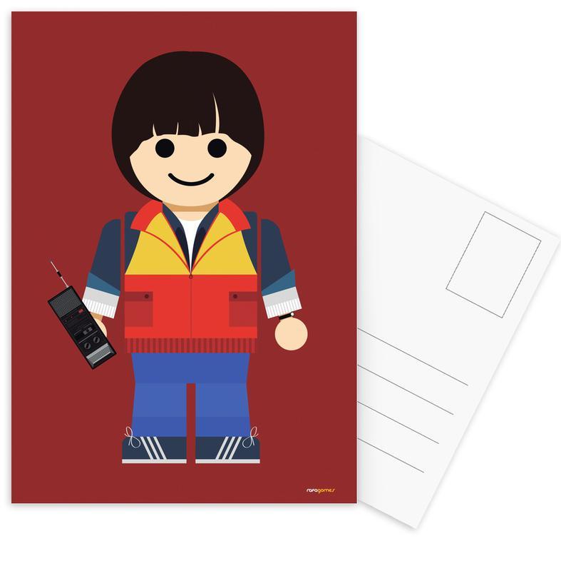 Will Toy Postcard Set