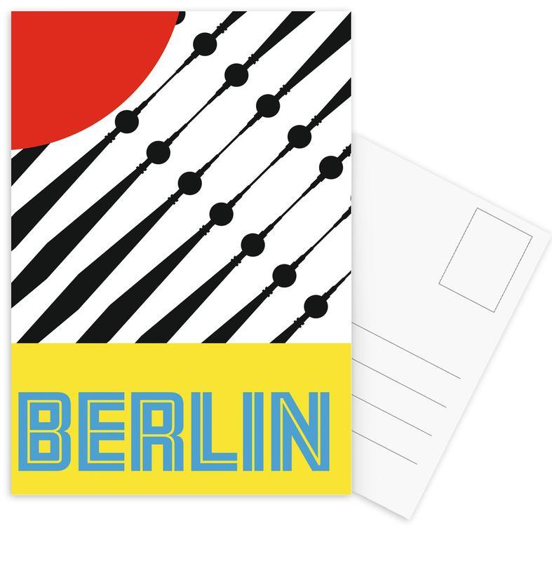 Berlin Love Part I Postcard Set