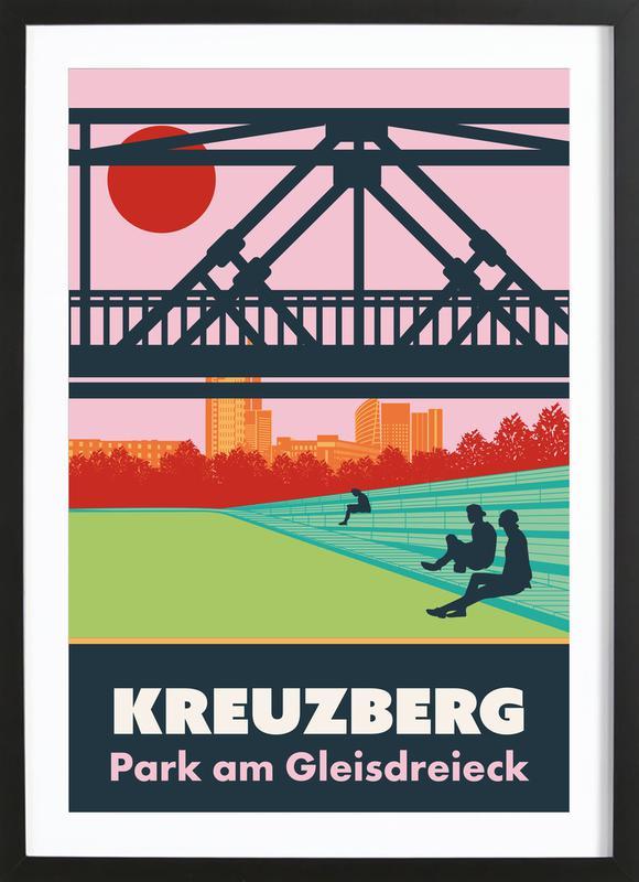 Berlin Kreuzberg Framed Print