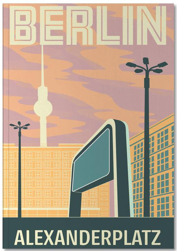 Berlin Alexanderplatz Sonnenuntergang Notebook