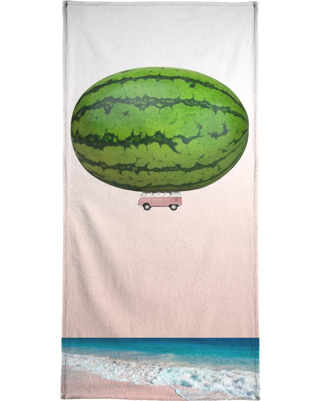 Melon Ship Strandtuch | Bad > Handtücher > Saunatücher | Mehrfarbig
