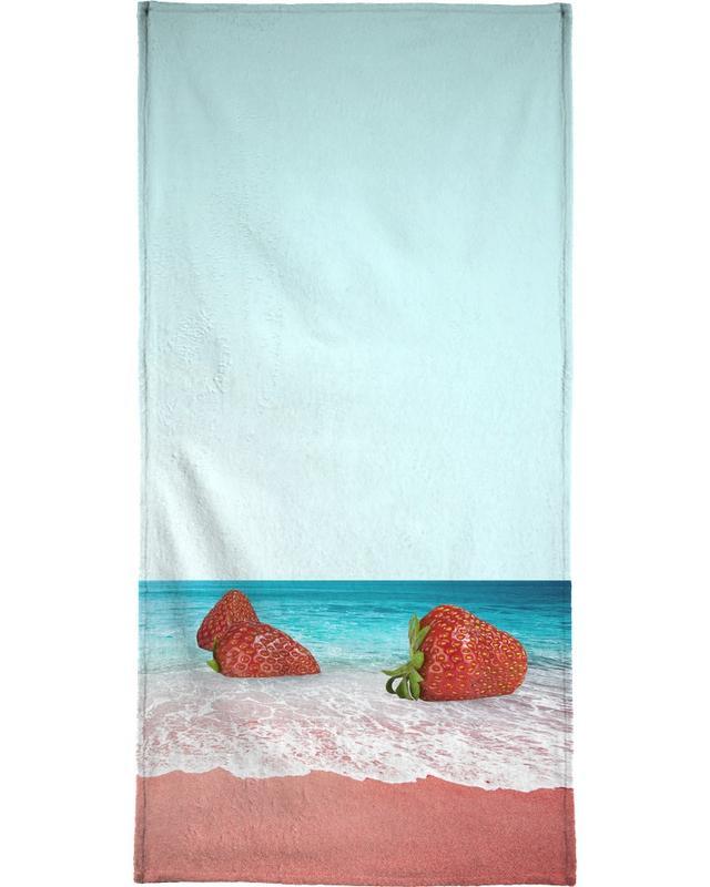 Strawberry Shores Strandtuch | Bad > Handtücher > Saunatücher | Mehrfarbig