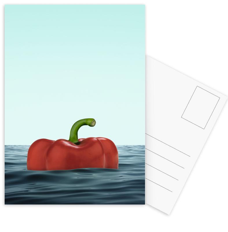 Das Pepper Postcard Set
