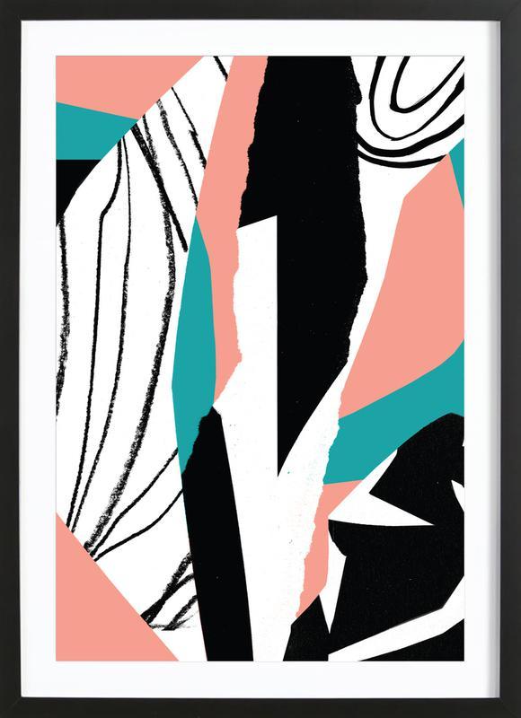 Kalimba Premium Poster gerahmt | Dekoration > Bilder und Rahmen > Poster | Mehrfarbig