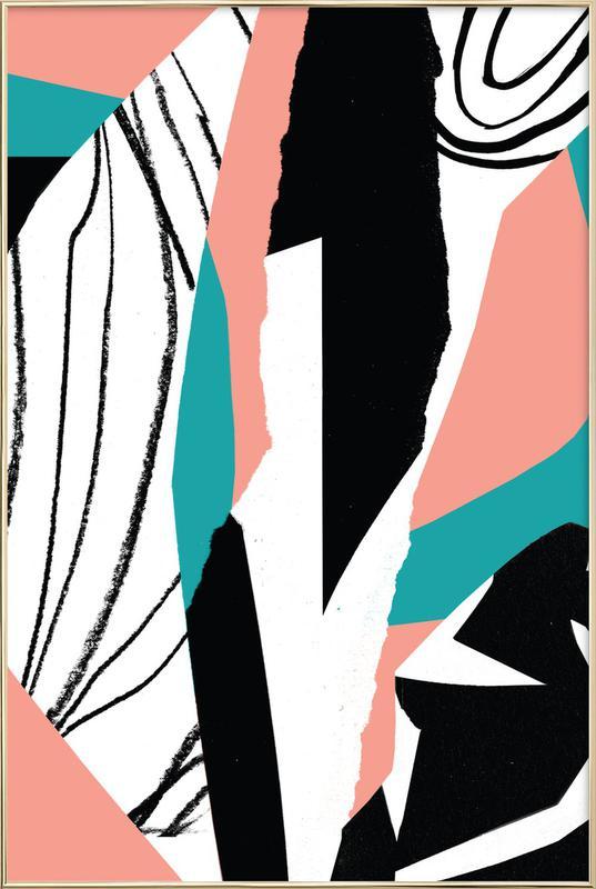 Kalimba Poster im Alurahmen   Dekoration > Bilder und Rahmen > Poster   Mehrfarbig