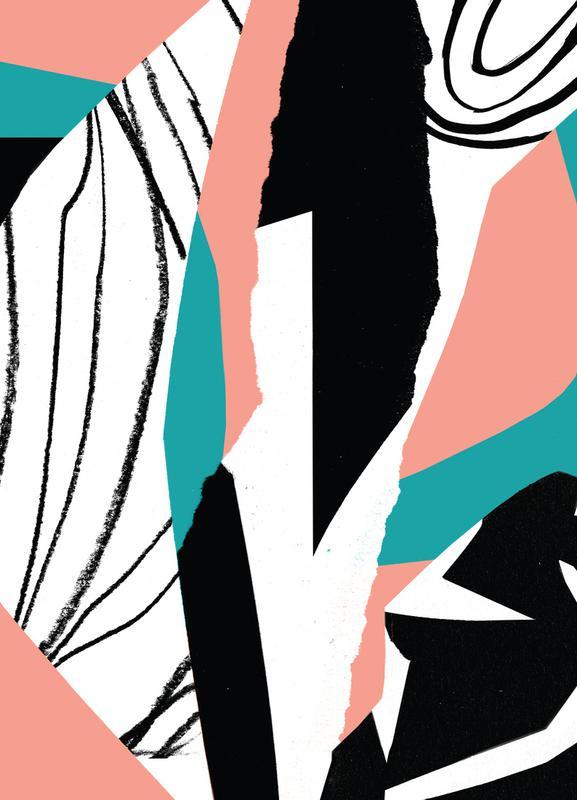 Kalimba Leinwandbild | Dekoration > Bilder und Rahmen > Bilder | Mehrfarbig | Holz