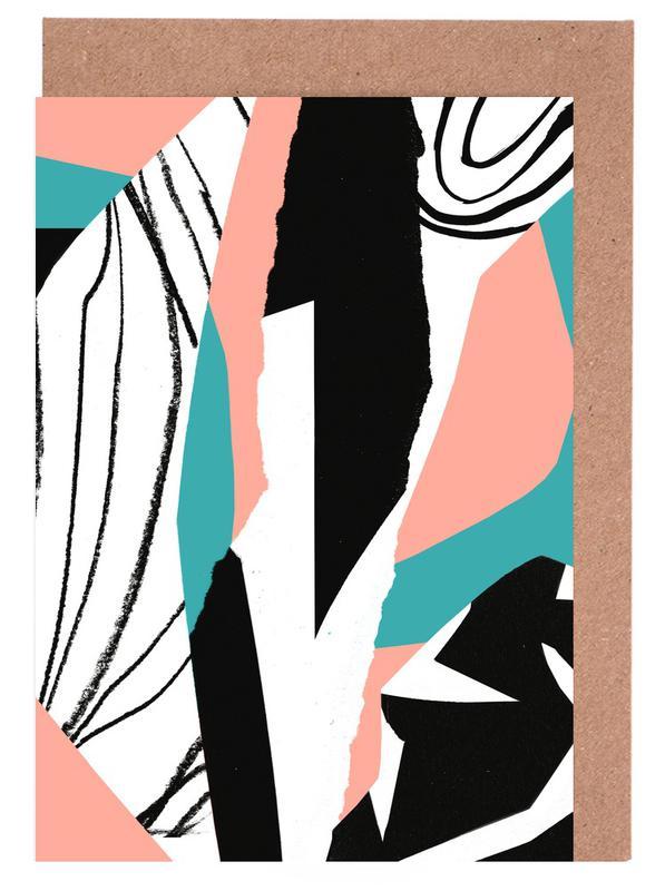 Kalimba Grußkartenset | Dekoration > Accessoires | Mehrfarbig