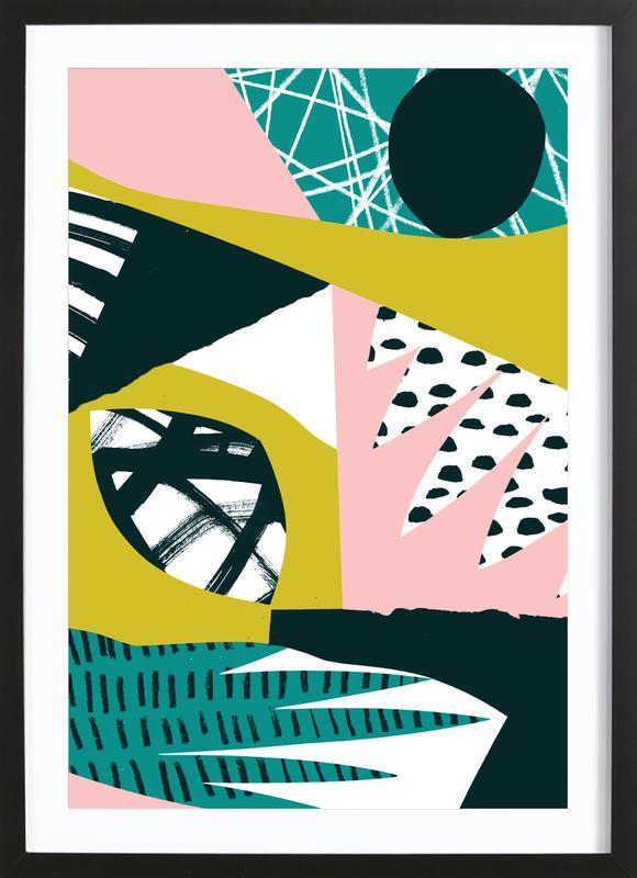 Serenity Premium Poster gerahmt | Dekoration > Bilder und Rahmen > Poster | Mehrfarbig