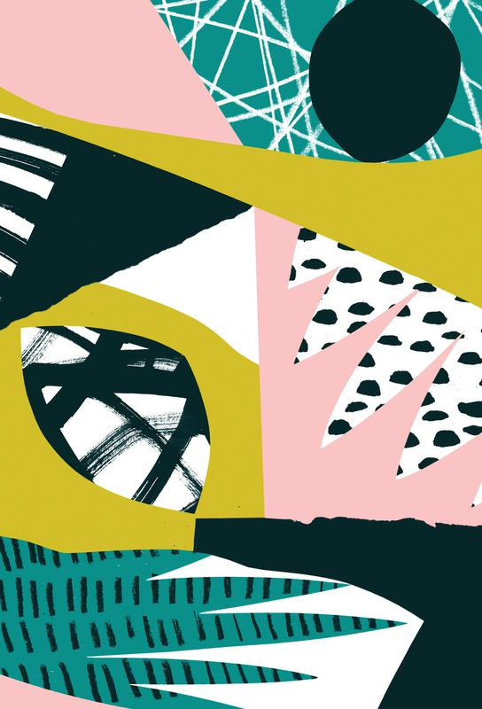 Serenity Alu Dibond Druck | Dekoration > Bilder und Rahmen > Poster | Mehrfarbig | Aluminium