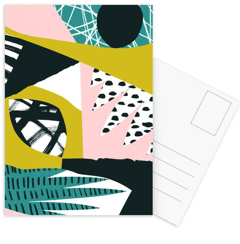 Serenity Postkartenset | Dekoration > Accessoires | Mehrfarbig