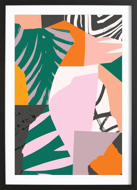 Galapagos Premium Poster gerahmt   Dekoration > Bilder und Rahmen > Poster   Mehrfarbig