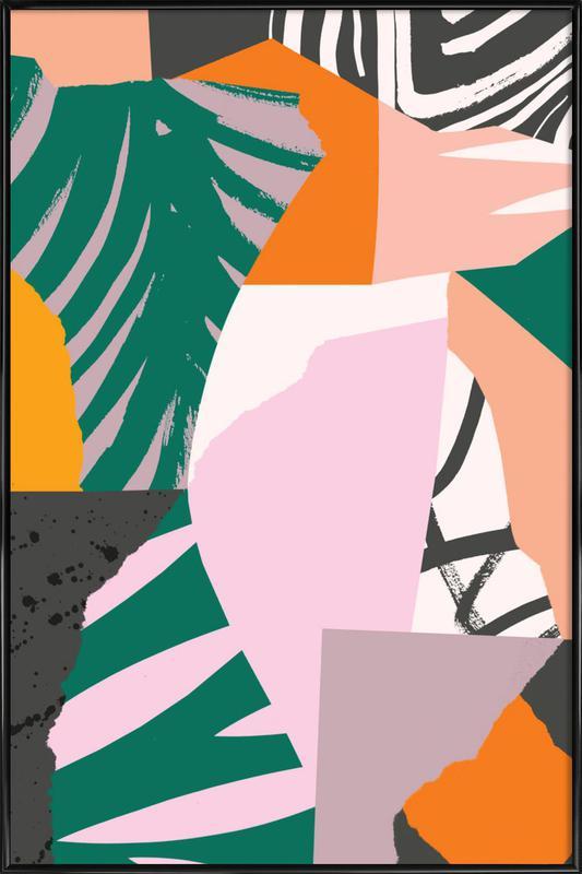 Galapagos Gerahmtes Poster | Dekoration > Bilder und Rahmen > Poster | Mehrfarbig
