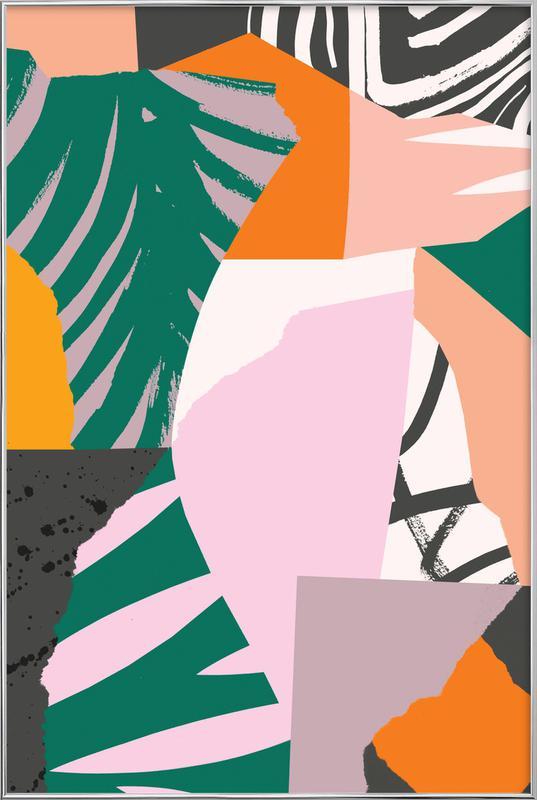 Galapagos Poster im Alurahmen | Dekoration > Bilder und Rahmen > Poster | Mehrfarbig