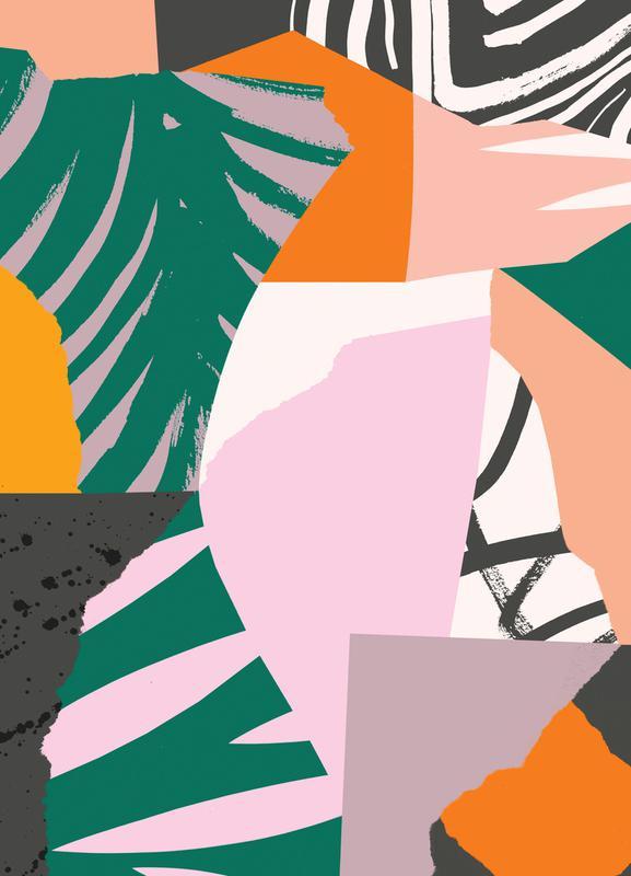Galapagos Leinwandbild | Dekoration > Bilder und Rahmen > Bilder | Mehrfarbig | Holz