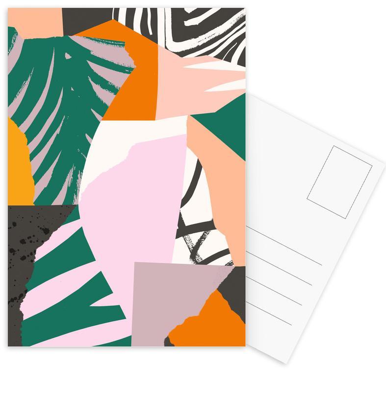 Galapagos Postkartenset | Dekoration > Accessoires | Mehrfarbig