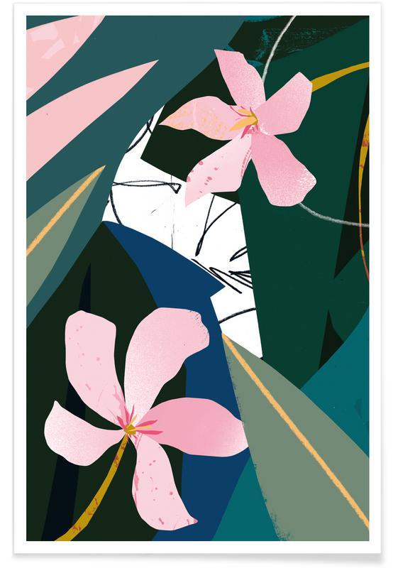 Oleander Plakat