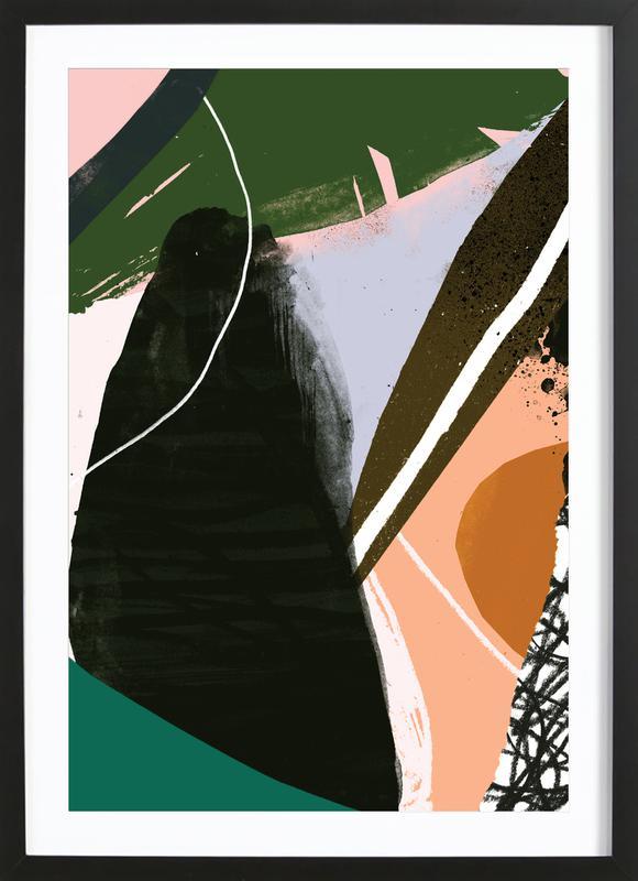 Swamp Premium Poster gerahmt | Dekoration > Bilder und Rahmen > Poster | Mehrfarbig