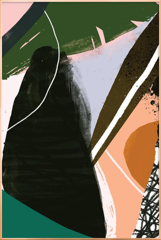 Swamp Poster im Alurahmen | Dekoration > Bilder und Rahmen > Poster | Mehrfarbig
