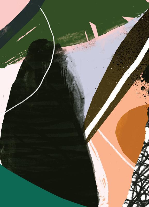 Swamp Leinwandbild | Dekoration > Bilder und Rahmen > Bilder | Mehrfarbig | Holz