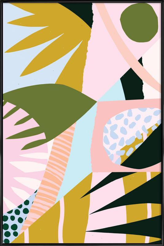 Untitled Gerahmtes Poster | Dekoration > Bilder und Rahmen > Poster | Mehrfarbig