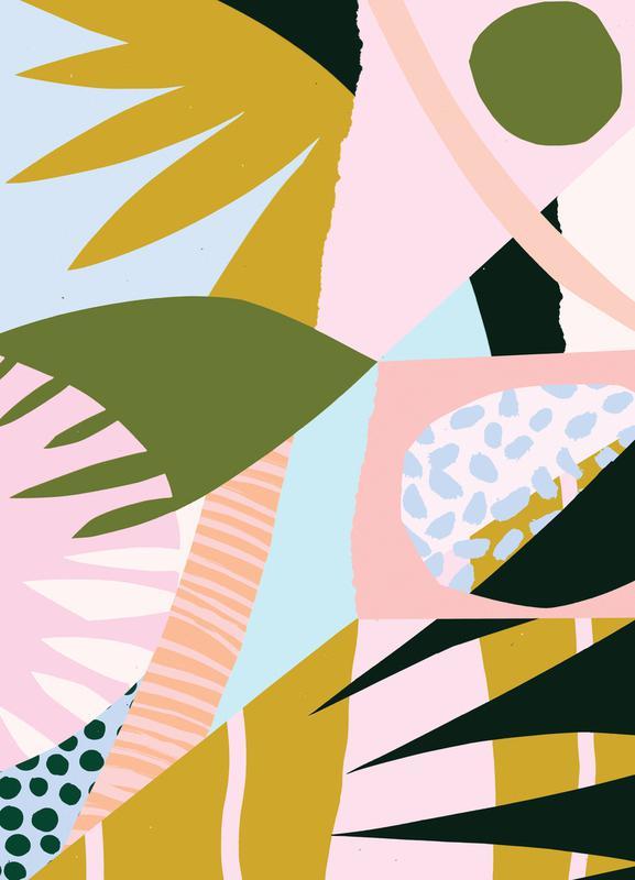 Untitled Leinwandbild | Dekoration > Bilder und Rahmen > Bilder | Mehrfarbig | Holz