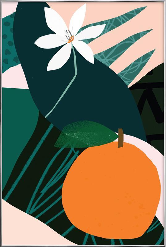 Orange Poster im Alurahmen   Dekoration > Bilder und Rahmen > Poster   Mehrfarbig