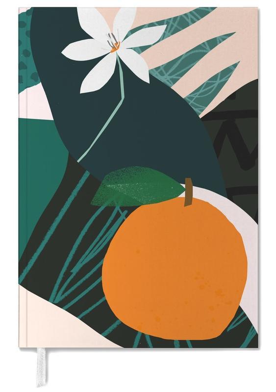 Orange Terminplaner 2018 | Dekoration > Accessoires | Mehrfarbig | Papier