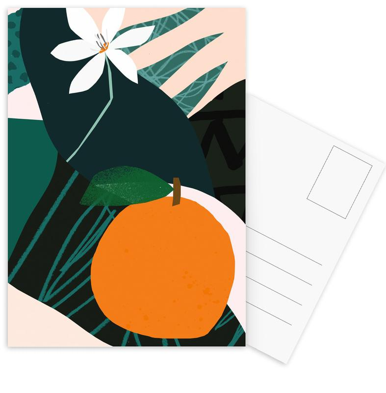 Orange cartes postales