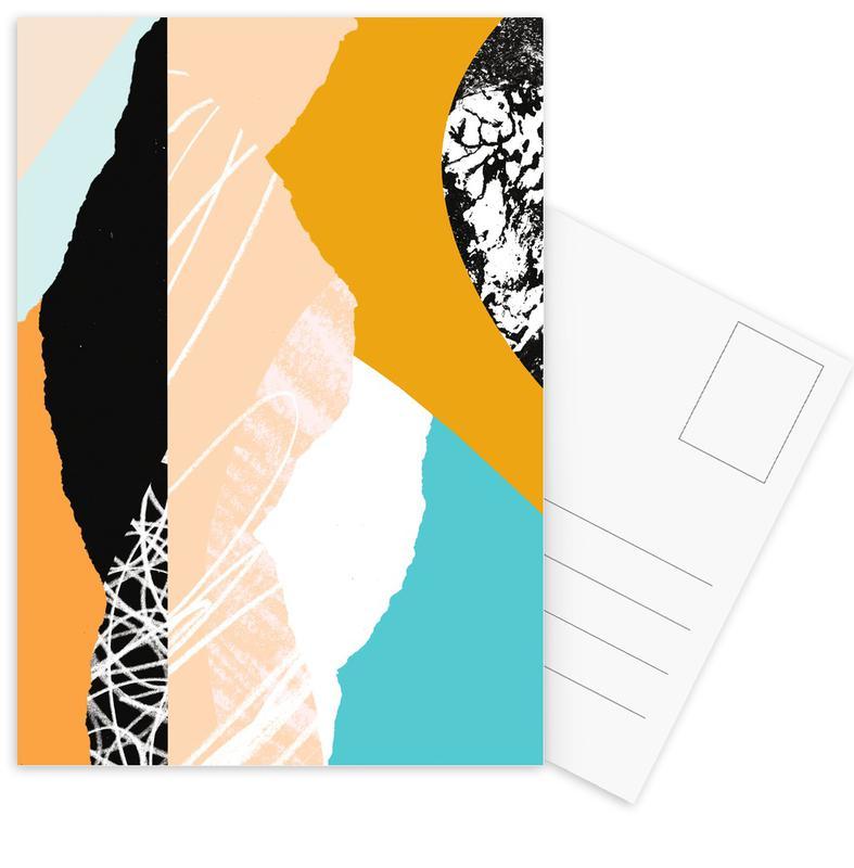 Morning Sunrise Postkartenset   Dekoration > Accessoires   Mehrfarbig