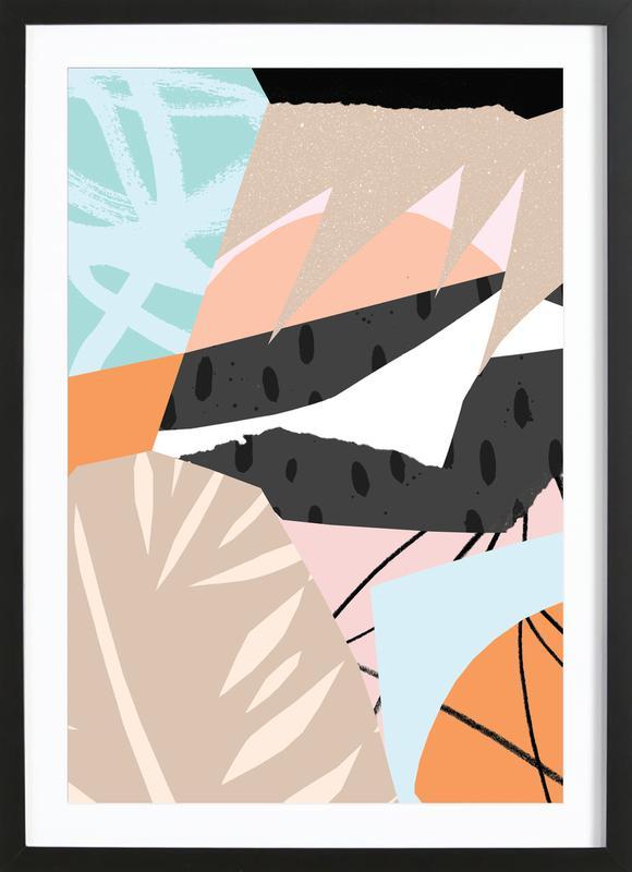 Scandi Premium Poster gerahmt | Dekoration > Bilder und Rahmen > Poster | Mehrfarbig