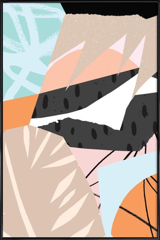 Scandi Gerahmtes Poster | Dekoration > Bilder und Rahmen > Poster | Mehrfarbig