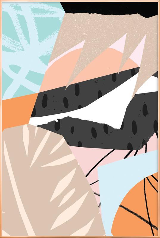 Scandi Poster im Alurahmen | Dekoration > Bilder und Rahmen > Poster | Mehrfarbig