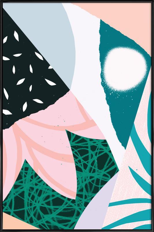 Ambience Gerahmtes Poster | Dekoration > Bilder und Rahmen > Poster | Mehrfarbig