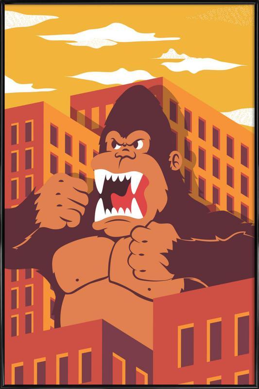 Ape Framed Poster