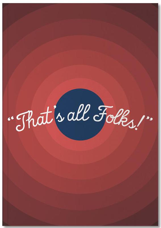 That's All Folks Notebook
