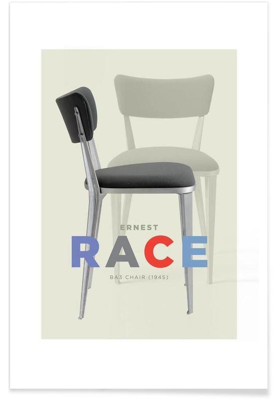 Ernst Race -Poster