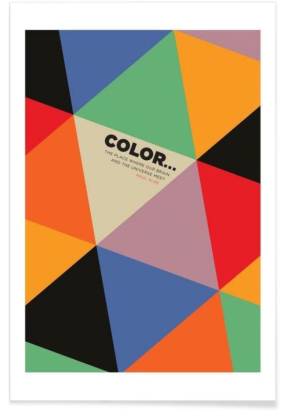Harlequin Klee poster