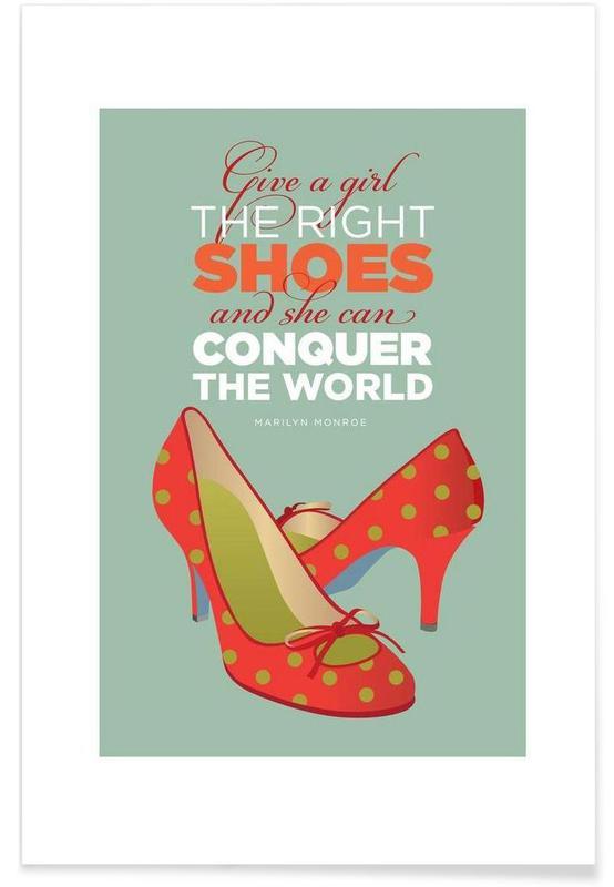 Monroe Shoes Poster