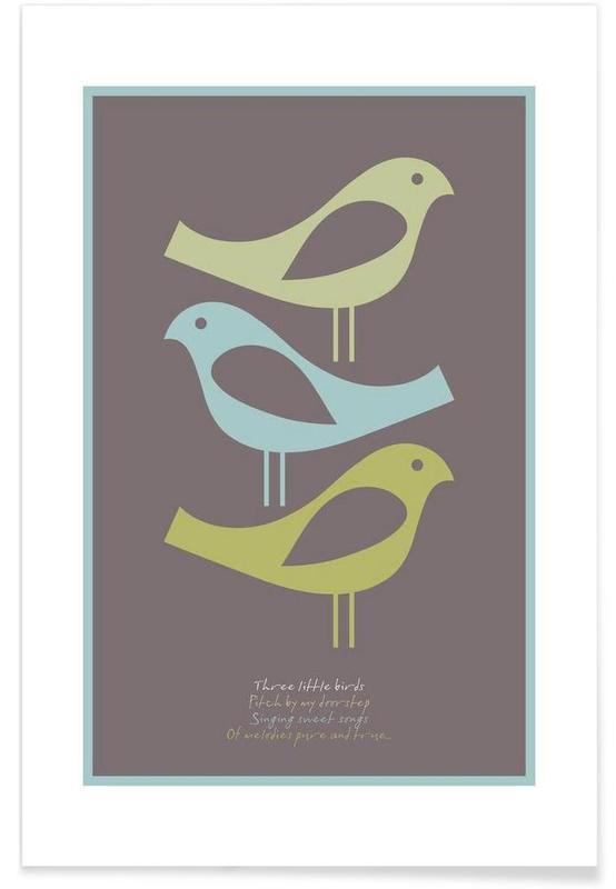 Three little birds affiche