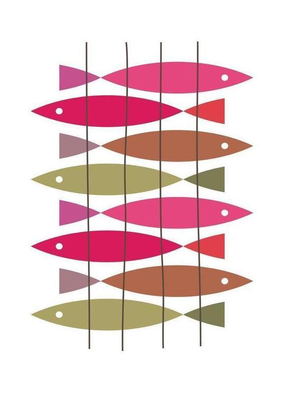 Fish 1 canvas doek