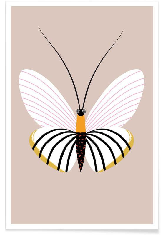 Butterflies - Paper Kite Poster