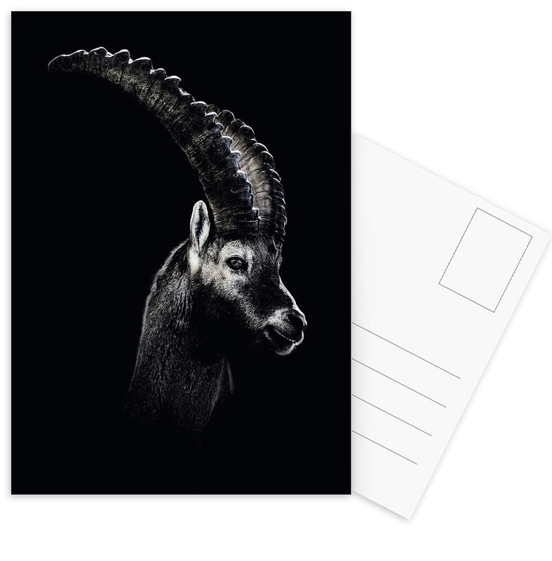 Dark Capricorn -Postkartenset