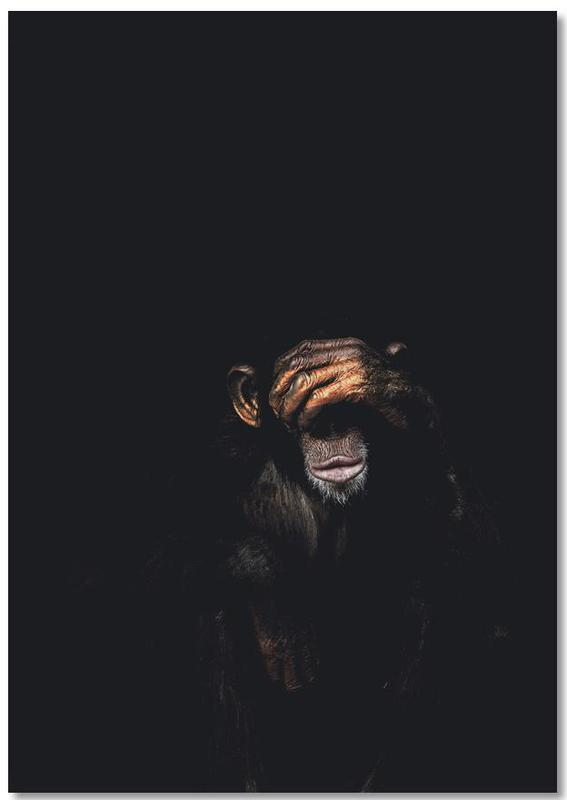 Monkey See No Evil Notebook