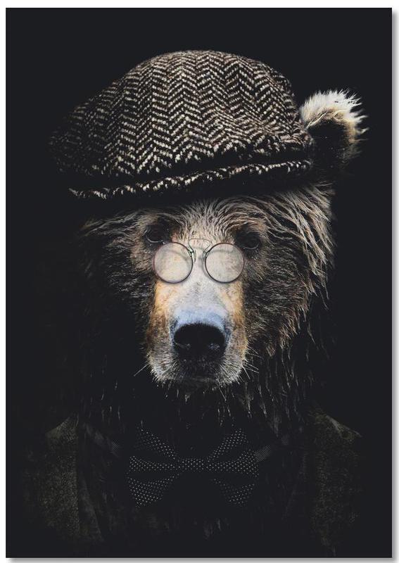 Classy Bear -Notizblock