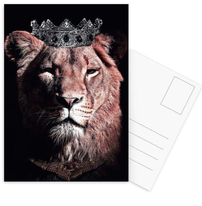 Dark Queen Postcard Set
